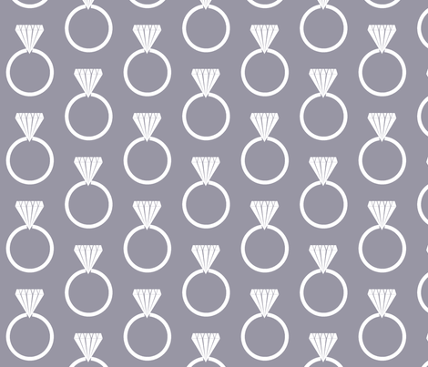 Diamond Ring Lilac Gray fabric by arm_pillozzz on Spoonflower - custom fabric