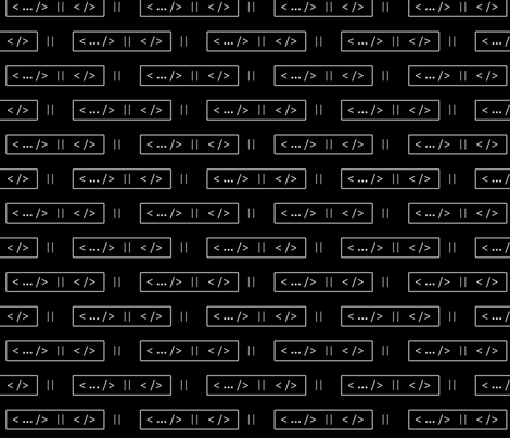 code - Black/Grey fabric by mmtaylor on Spoonflower - custom fabric