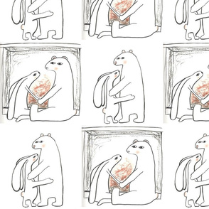 Bear and Bunny Love