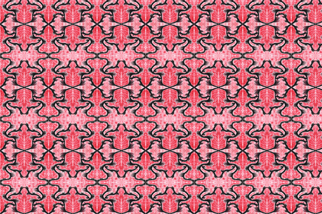 Amongst the red black will show fabric by mommy_brain_art on Spoonflower - custom fabric