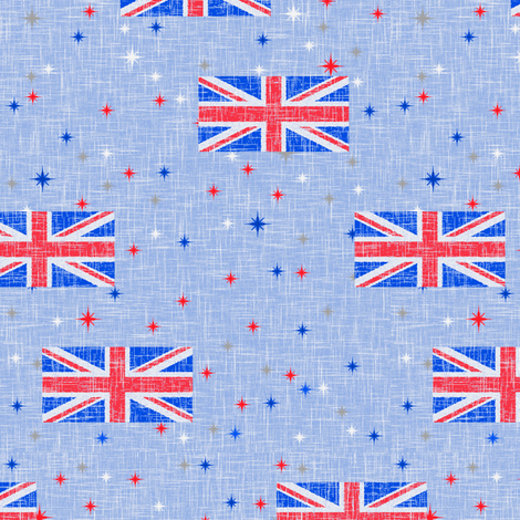 Patriotic Jack fabric by inscribed_here on Spoonflower - custom fabric