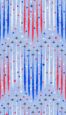 Patriotic Flyover