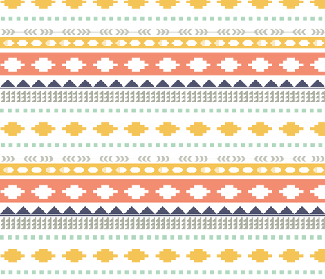Aztec_full_pattern_FINAL-01 fabric by pip_pottage on Spoonflower - custom fabric