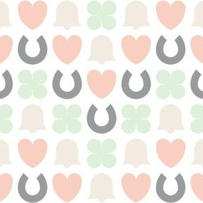 confetti 4 chevron zigzag : pale