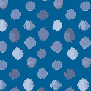 Abstract Clouds Blue