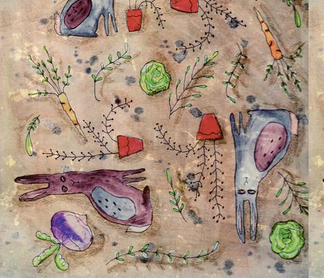 Cabbage_Patch_Fotor fabric by notforgottenfarm on Spoonflower - custom fabric