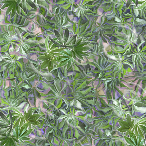 Green Indica Dance fabric by camomoto on Spoonflower - custom fabric