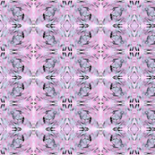 Abstract Patterns in pink and blue