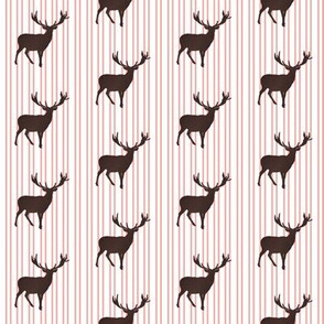 Deer with Stripes