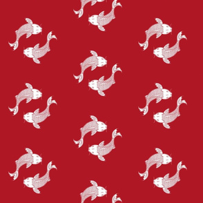 KOI_RED_DESIGN_PATTERN_FOR_FABRIC