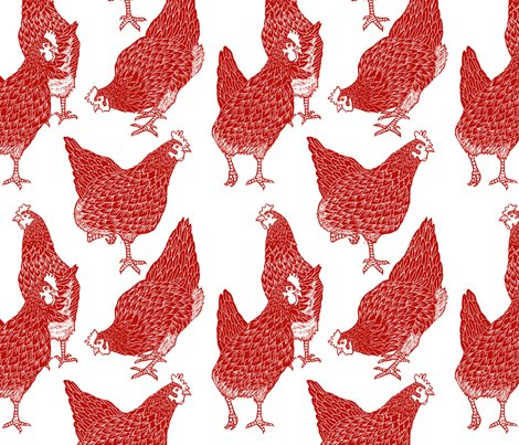 Fabric_design_-_sorted_hen_-_new_red_shop_preview