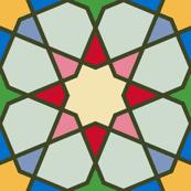 octagonal stars : xmas