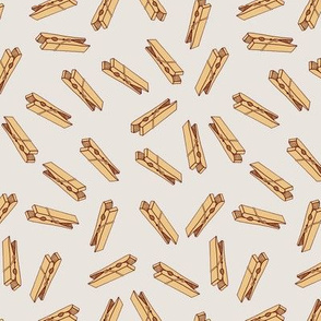 Clothes Pegs Designs | Peg Fabric Wallpaper Gift Wrap Spoonflower