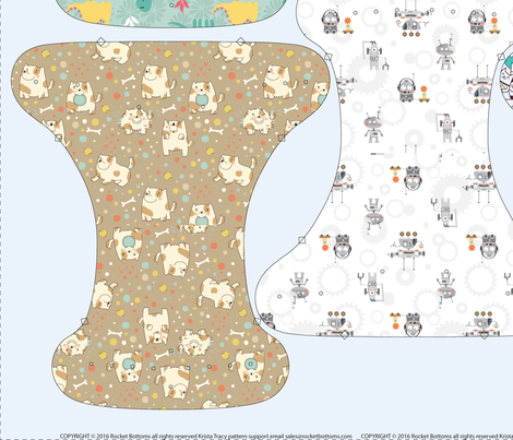 Newborn Fitted - Minky 54 inch fabric by ktracyunlimited on Spoonflower - custom fabric