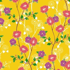 Floral (yellow)
