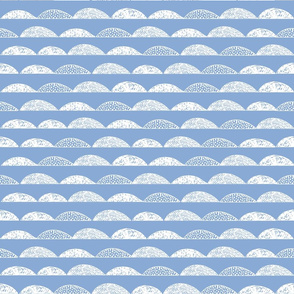 scallop // serenity blue periwinkle pantone 2016 kids nursery boy blue
