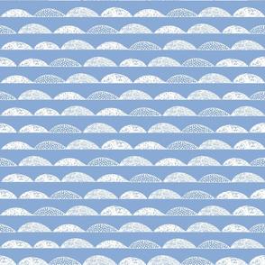 scallop // serenity blue periwinkle pantone 2016 kids nursery boy blue