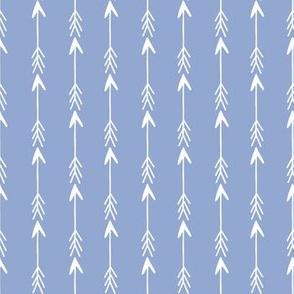 Arrow // gender neutral pantone blue serenity arrows