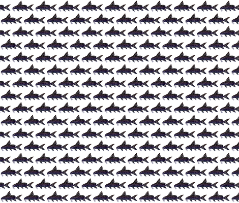 Angel Squeaker Upside-down Catfish fabric by combatfish on Spoonflower - custom fabric