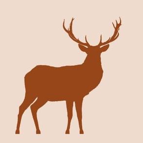 Textured Copper Deer Swatch