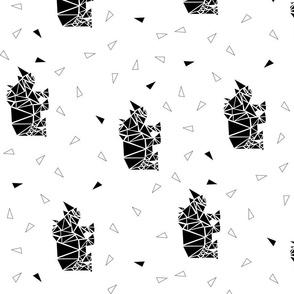 Rhino B&W  {PoonAppLe}