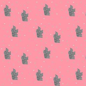 Pink Rhinos {PoonAppLe}