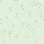 Valentine Outline (green)