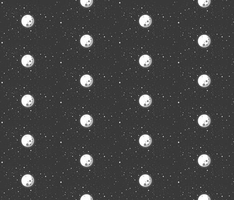 Moon fabric by cloudsfactory on Spoonflower - custom fabric