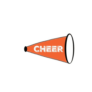CHEER  Large - Orange