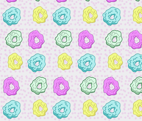 Style by Scrunchie fabric by lowcountrychic on Spoonflower - custom fabric
