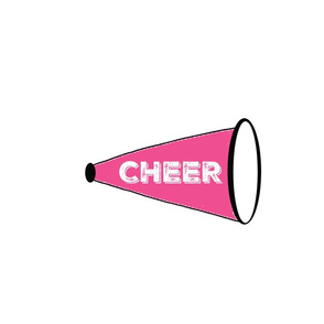 CHEER  Large - hot pink
