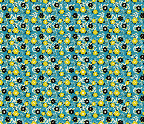 Corazon-02 fabric by gingerenmai on Spoonflower - custom fabric