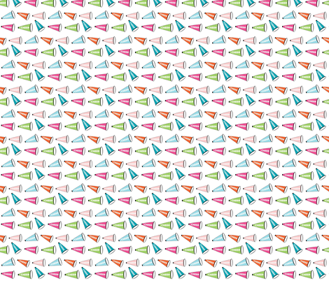 Cheer Mix - MINI fabric by drapestudio on Spoonflower - custom fabric