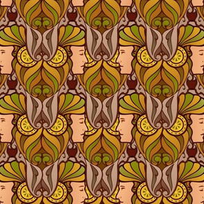 Janus in forest colors