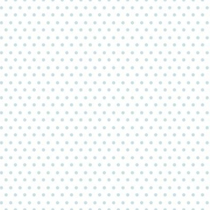 Light Blue Polka Dots