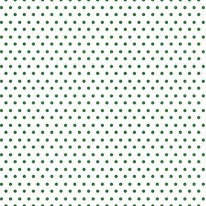 Green Polka Dots Fabric