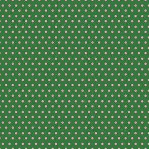 Pink & Green Polka Dots