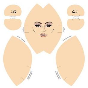 Lovely Lady Head