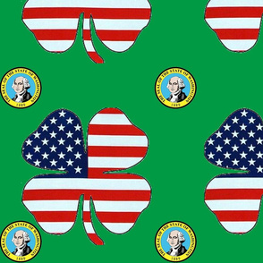 WA state clover flag