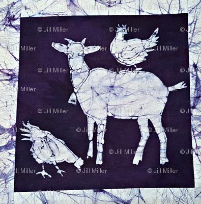 batik goat 2