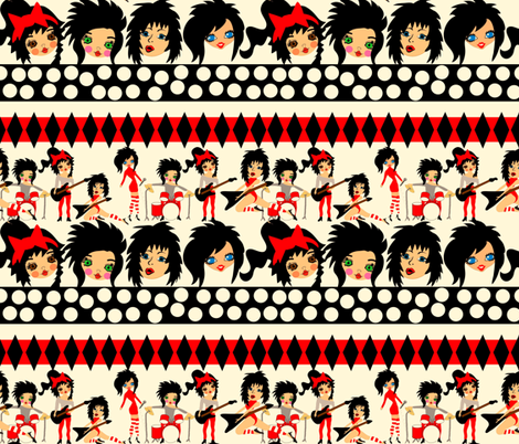 Hair Band fabric by orangefancy on Spoonflower - custom fabric