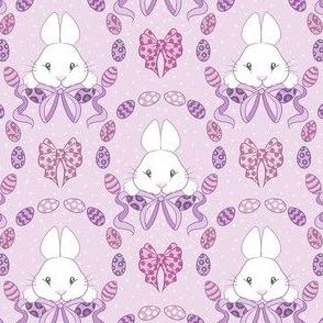 Easter Bunnies in purple