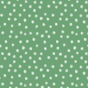 Watercolor Dot in Green