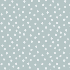 Watercolor Dot in Light Blue