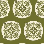 Medallion - olive