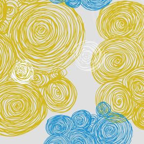 Yellow Hay Bales