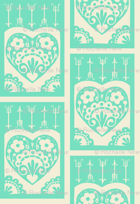 Little Valentine - mint