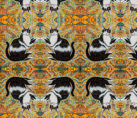 Vixen fabric by ciswee on Spoonflower - custom fabric