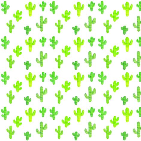watercolor cactus   tiny size wallpaper   taraput