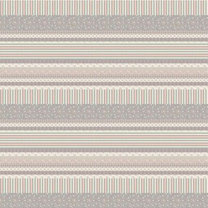 Many Hearts Sampler Stripe 2